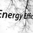 Stock Photo: Energy Efficient Sign