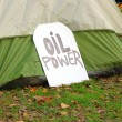 Stock Photo: Oil Power Sign
