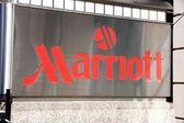 Marriott Sign — Stock Photo