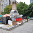 Постер, плакат: Occupy Montreal Movement Sit in