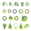 Environmental icons — Stock Vector #8797024