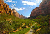 Zion Nationalpark — Stockfoto
