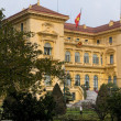 Vietnam Hanoi. Presidential Palace in garden and wi — Stock Photo #10690574