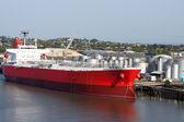 Brisbane: tanker in port. — Stock Photo