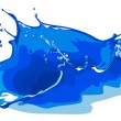 Royalty-Free Stock Vector Image: Water splash freeze