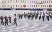 Military parade — Stock Photo