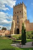 Lubart's castle in the Lutsk — Stock fotografie