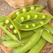 Pods peas — Stock Photo