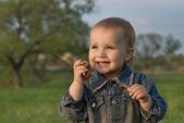 Infant joy — Stockfoto