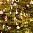 Christmas Tree Decoration. Abstract Background - Foto de Stock