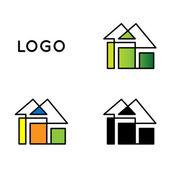 Logo aziendale — Vettoriale Stock