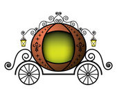 Carriage — Vector de stock