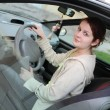 Teenage driver — Stock Photo #10008109