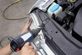 Car servicing — Stock Photo