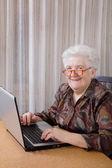 Mujer senior — Foto de Stock