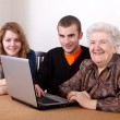 Generations — Stock Photo
