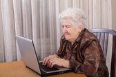 Senior woman — Stock Photo