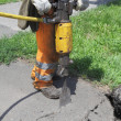 jackhammer — Stock Photo