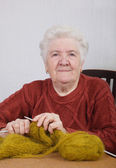 Old lady — Stock Photo