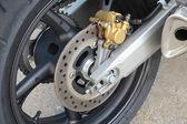 Freno de la motocicleta — Foto de Stock