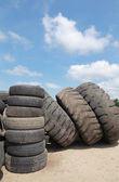 Recycling tires — Stock Photo