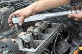柴油发动机 — 图库照片