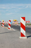 Highway in reconstruction — Stock Photo