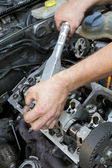Engine repairing — Stock Photo