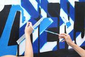 Graffitti — Stockfoto