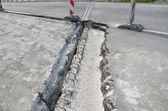 Road reconstruction — Stock Photo