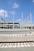 Byggarbetsplats — Stockfoto