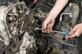 Engine repair — Stock Photo