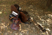 Instrumentos musicais — Foto Stock