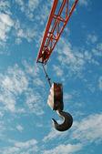 Hook and crane — Stock Photo