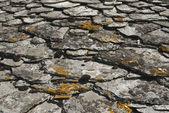 Telhado de pedra — Fotografia Stock