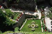 Zahrada v klášteře — Stock fotografie