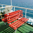 Red bench — Stock Photo #9150012