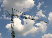 Crane over sky — Stock Photo
