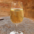 Stock Photo: Wine glass