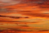 色彩斑斓的天空 — 图库照片