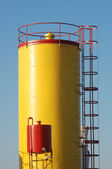 Industrial tank — Stock Photo