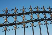 Kovový plot — Stock fotografie