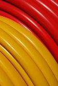 Plastic hose — Stock Photo