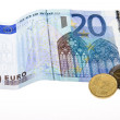 Royalty-Free Stock Photo: Euro currency