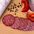 Hungarian salami — Stock Photo