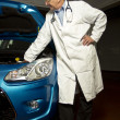 Stock Photo: Car Doctor