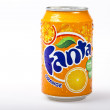 Fanta orange drink — Stock Photo