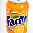 Fanta orange drink — Stock Photo #8929588