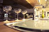 Modern kitchen pipe — ストック写真