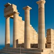 Columns of Greek acropolis — Stock Photo #9770500